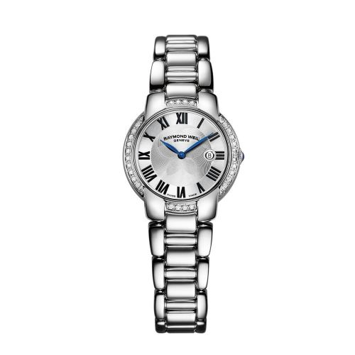 RAYMOND WEIL Jasmine 28 Diamond Ladies Watch 5229-STS-01659